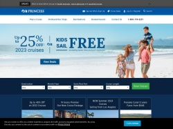 Princess Cruises promo code and other discount voucher