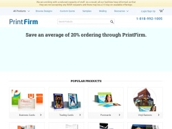 PrintFirm promo code and other discount voucher