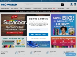 Pro World promo code and other discount voucher