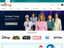 Pure Costumes promo code and other discount voucher