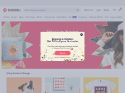 Redbubble promo code and other discount voucher