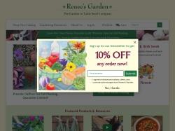 Renee's Garden promo code and other discount voucher