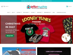 Retro Festive promo code and other discount voucher