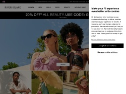 River Island US promo code and other discount voucher