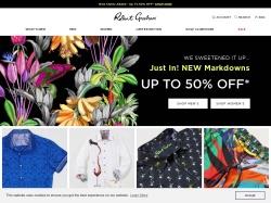 Robert Graham promo code and other discount voucher