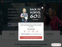 Rocket Languages coupons