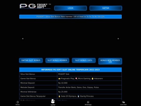 scotland2008.org website screenshot Situs Judi Slot Online Resmi Gampang Menang | CERIABET