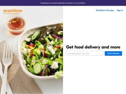 Seamless promo code and other discount voucher