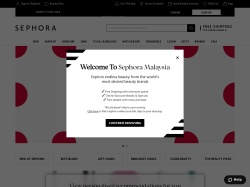 Sephora Malaysia promo code and other discount voucher