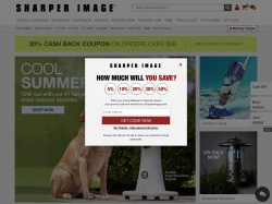 Sharper Image promo code and other discount voucher