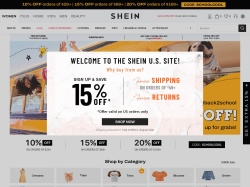 SheIn promo code and other discount voucher