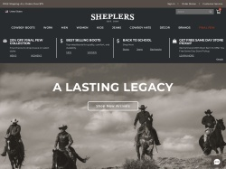 Sheplers promo code and other discount voucher