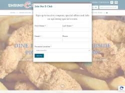 Shrimp Basket promo code and other discount voucher