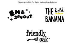 Sick For Cute promo code and other discount voucher