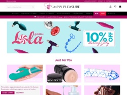Simply Pleasure promo code and other discount voucher