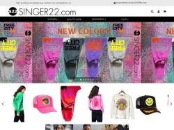 Singer22 promo code and other discount voucher