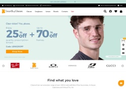 Smart Buy Glasses NZ promo code and other discount voucher