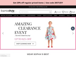 Sophia's Style Boutique promo code and other discount voucher