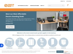 Stand Up Desk Store promo code and other discount voucher
