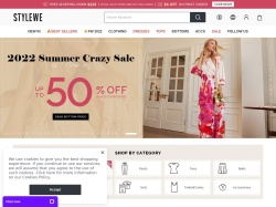 StyleWe promo code and other discount voucher