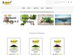 Sunburst Superfoods promo code and other discount voucher