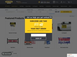 Super Cheap Signs promo code and other discount voucher
