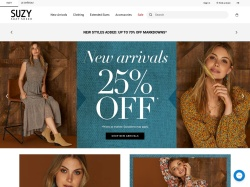 Suzy Shier promo code and other discount voucher