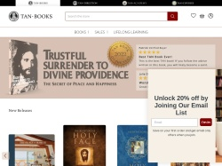 TAN Books promo code and other discount voucher
