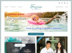 The Fountain Spa promo code and other discount voucher