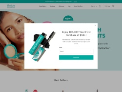 Thrive Causemetics promo code and other discount voucher