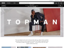 Topman UK promo code and other discount voucher
