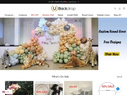 UBackdrop promo code and other discount voucher