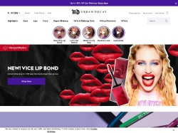 Urban Decay promo code and other discount voucher