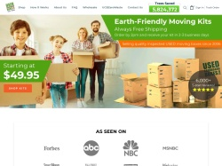Used Cardboard Boxes promo code and other discount voucher