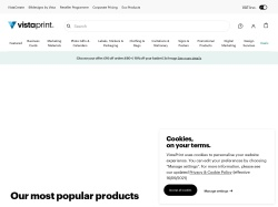 Vistaprint UK promo code and other discount voucher