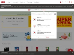 Vons promo code and other discount voucher