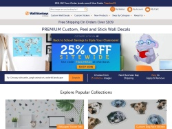 WallMonkeys promo code and other discount voucher