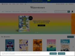 Waterstones UK coupons