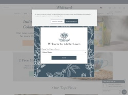 Whittard of Chelsea UK promo code and other discount voucher