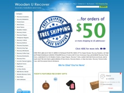 Wooden U Recover coupons