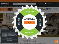 Worx promo code and other discount voucher