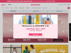 ROMWE.com Coupon