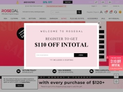 RoseGal.com Coupon