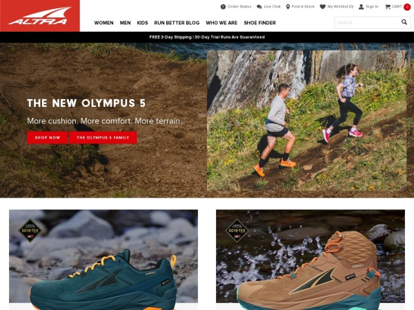 Altra跑鞋官网