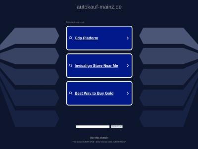 Auto kaufen Wiesbaden Thumb