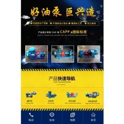 导热油泵_不锈钢齿轮油泵_高粘度泵_巨兴工业泵