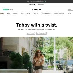 COACH蔻驰官网-源自纽约的国际时尚品牌