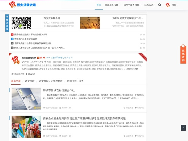 www.daikuan029.com的网站截图