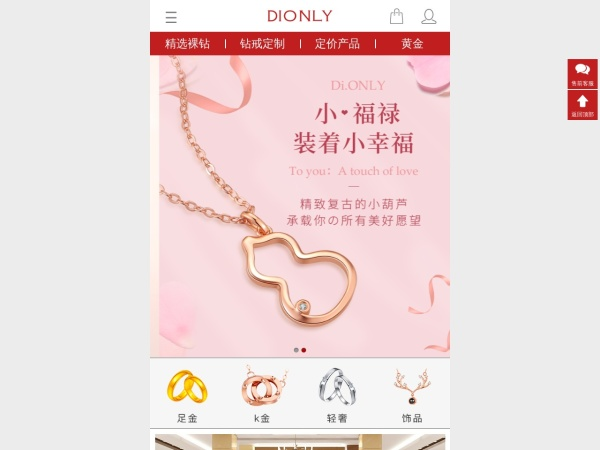 www.dionly.com的网站截图