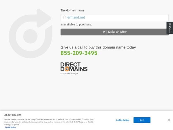 www.emland.net的网站截图